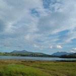 Cuillin Hills from Portree, Isle of Skye Scotland thumbnail