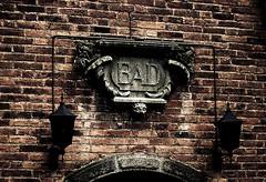 Not good (gothicburg) Tags: door brick architecture dark göteborg sweden gothenburg masonry bad ornament doom gloom portal lightroom olympusc5050z darkdeviations carlanderska