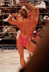 FiBo 1989 - Anja Langer (0013) (Thomas Becker) Tags: show female muscle 1988 posing cologne fair kln bodybuilding fibo 1989 bodybuilder athlete fitness messe langer anja reebok fbb msolympia anjalanger fitnessbodybuilding 03061965
