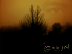 Boy and the Ghost (Eddsilver) Tags: morning trees boy selfportrait photoshop dawn scary ghost oasis tarja turunen