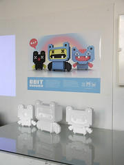 8BitBuddies presentation at UdK Berlin (Stick-A-Thing_____S_____ A_____T) Tags: urban berlin art monster poster toy design character pixel presentation styrofoam plakat polystyrene udk eyewashdesign styropor stickathing 8bitbuddies