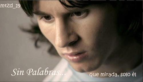 Messi. Modelo de Superación.