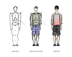 human figure practice (by Adam Polselli)