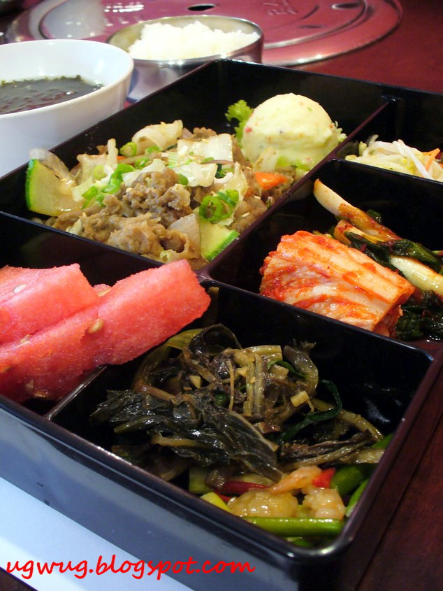 Bulgogi set lunch