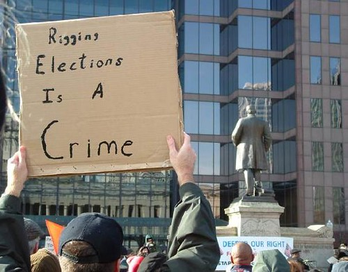 Rigging elections