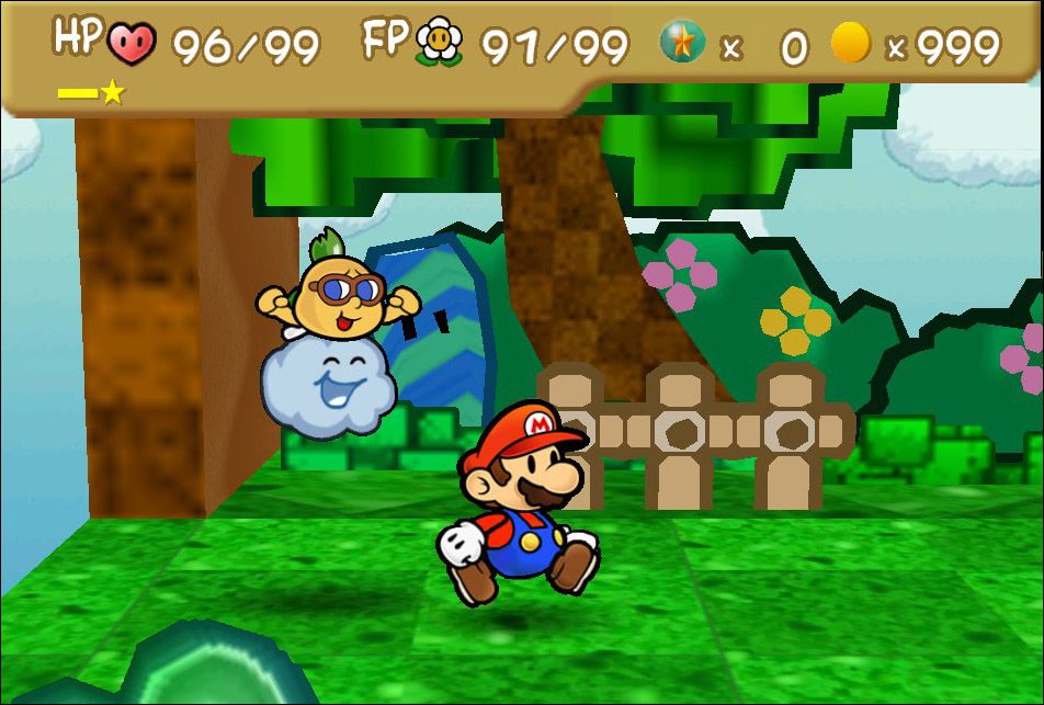 Playing on an emulator, it freezes when i level up - Paper Mario