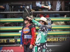(.emily.) Tags: clown bull bullfighter pbr flint bullriding chutes professionalbullriders flintrasmussen shortygorham