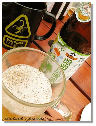 北台灣溫先生哈密瓜啤酒 (飲酒過量有礙健康)