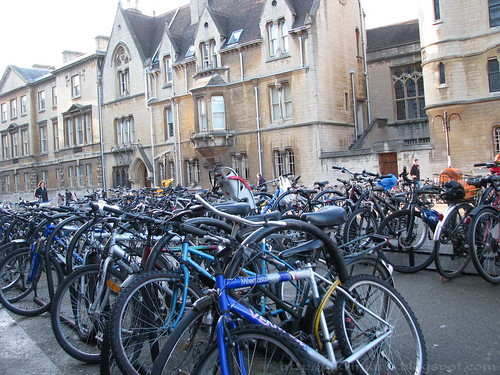 Bikes at Oxford