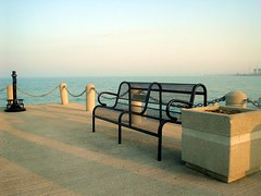 By the Sea 2 (hackjob) Tags: bench lakeontario gta retouched postprocessing bythesea2