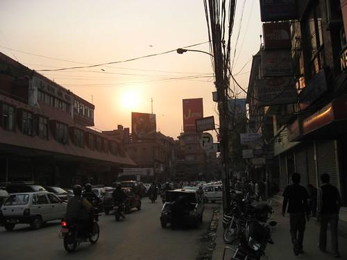 Sunset in Kathmandu
