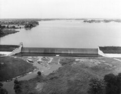 Geist Dam on Fall Creek__1943