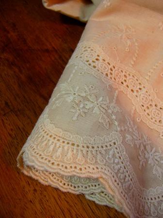 scalloped lace