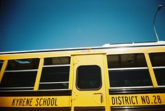School bus (kevin dooley) Tags: school favorite bus film beautiful yellow analog 35mm wow book interesting fantastic flickr pretty slim angle very good district gorgeous awesome wide award superior super best most winner stunning excellent much incredible viv vivitar ultra breathtaking exciting phenomenal kyrene vivitarultrawideandslim book0