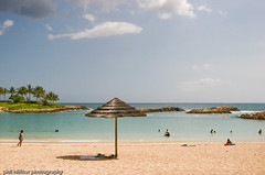 lightness of being - episode 11 ([phil h]) Tags: 15fav 20d beach topv111 1025fav umbrella eos hawaii oahu sigma lagoon fv5 tropical april fv10 hi 2008 koolina 1850mm img0316lred1