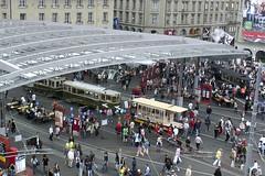 Eröffnungsfest Bahnhofplatz Bern