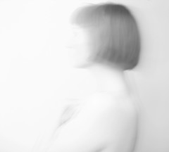 Forbidden Brides of the Faceless Slaves in the Nameless House of the Night of Dread Desire (The sky spoke and she answered yes) Tags: blackandwhite bw selfportrait nude bob autorretrato neilgaiman