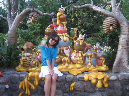 With Winnie the Pooh