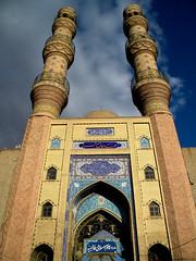 Tabriz - Jame Mosque (Habib Syyd) Tags: architecture ancient nikon iran places mosque unesco coolpix historical bazar tabriz ايران azarbaijan azarbayjan آذربايجان تبريز l100 azerbaycan unecoworldheritage sayyadi