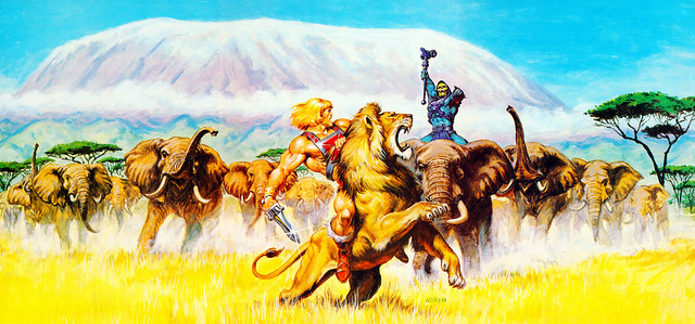 Masters Of The Universe - 28 (painting by Earl Norem)