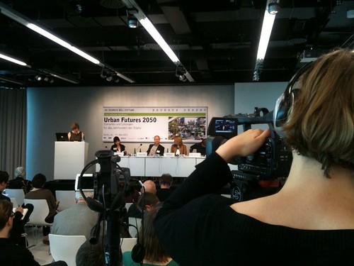 Kickoff zu Tag 2 der Urban Futures 2050
