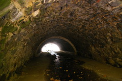 Twin stone arch culvert, just east of Ellicott City, Maryland