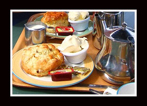 (100) Cream Tea - Bon appétit / Would you care for a cup of Tea?