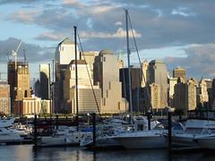 Downtown from Newport Marina (DP Photography) Tags: nyc newyorkcity india newyork evening manhattan orissa downtownmanhattan debasis pavonianewport debashis debasish debashish nydowntown debashispradhan photosbyinfoscion dpphotography odisha dp photography