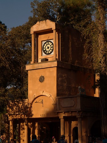 Clock tower at TRF