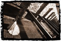 (h-e-d) Tags: bw brick sepia bride glow dress ottawa flowing contrasty carbidemill darkroastphotography wwwdarkroastphotocom