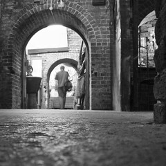Passing through this ancient archways... (* Ahmad Kavousian *) Tags: old brick london ancient camdenmarket cobblestone explore archways thelastone explored explore221 beeninexplorepage beeninflickrexplorepage