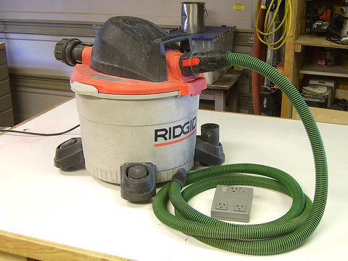Shop Vac with Switch