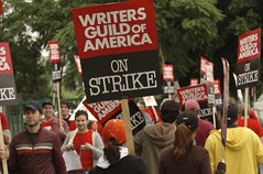 WGA Picket Line