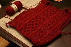 Red Plum Cabled Sweater (indiknits) Tags: redplum ravelry