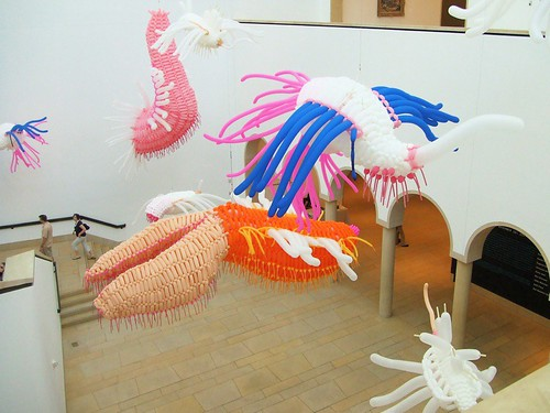 Jason Hackenwerth's balloon sculptures