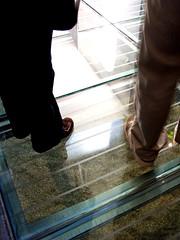 waterford_021 (davepattern) Tags: ireland feet reflections library waterford 2007 glassfloor nov2007 waterfordlibrary 08nov2007 waterfordcountylibrary waterfordcentrallibrary