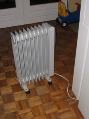 Portable radiator / oil heater ($40)