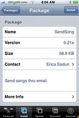 SendSong 0.21e