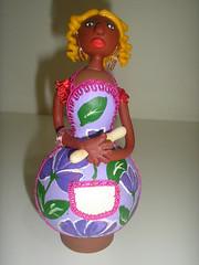 Cozinheira (Arte no quintal) Tags: cores arte artesanato tai biscuit formas quintal palhao artista detalhes taiana fernandes vendas rendas criaes cabaa