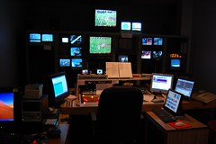 Command Centre (soundman1024) Tags: television tv nikon tvstation production abc director d40 kq2 technicaldirector kqtv 1855mmf3556gii rossvideoswitcher