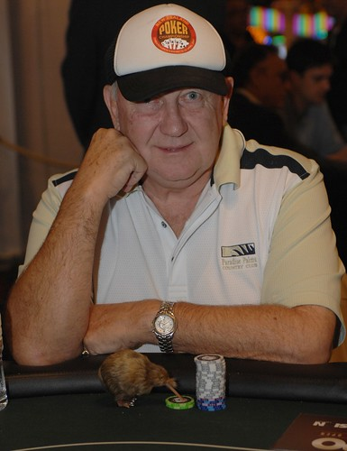 APPT Macau 2007 High Roller Event:  Graeme Putt and his lucky Kiwi