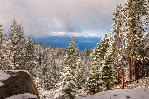 Snow! Lake Tahoe