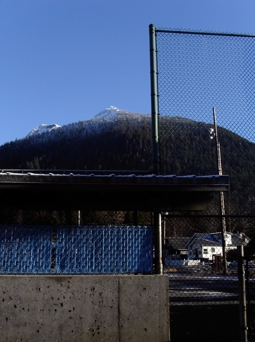 Deer Mountain from ballpark, Ketchikan, Alaska