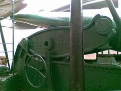 the disappearing gun