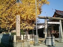 曳舟通り・飛木神社