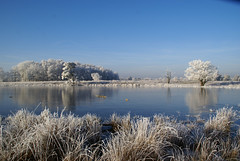 on a beautiful winterday...... (atsjebosma) Tags: christmas blue trees winter white holland ice nature reflections landscape frozen blauw bevroren nederland thenetherlands natuur explore wit soe friesland 2007 ijs reflectie bakkeveen blueribbonwinner 25faves abigfave anawesomeshot impressedbeauty aplusphoto diamondclassphotographer ysplix goldstaraward