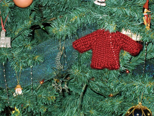 Sweater Tree Ornament