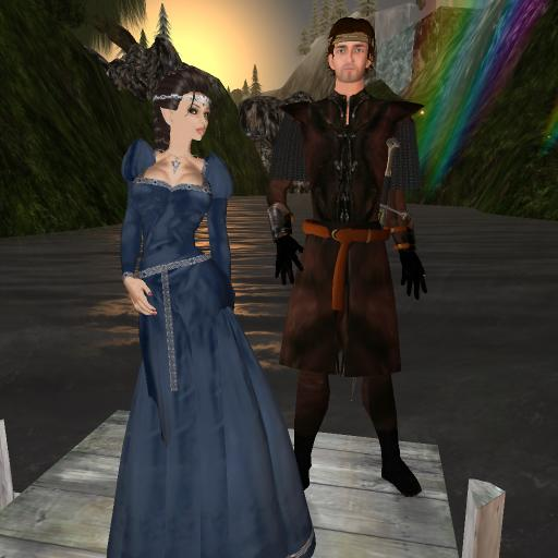 Lord Aragorn & Lady Arwen Evenstar [1]
