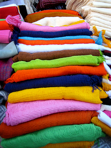 Colorul Fabric in Oaxaca