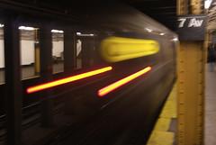 QQQqqq Train (arock75) Tags: park new york city nyc brooklyn train subway q slope